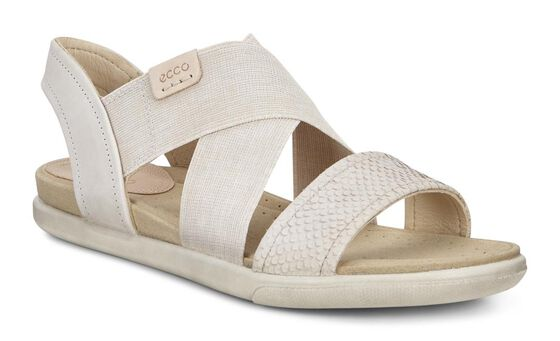ECCO Damara 2 Strap Sandal (MOON ROCK/GRAVEL/POWDER)