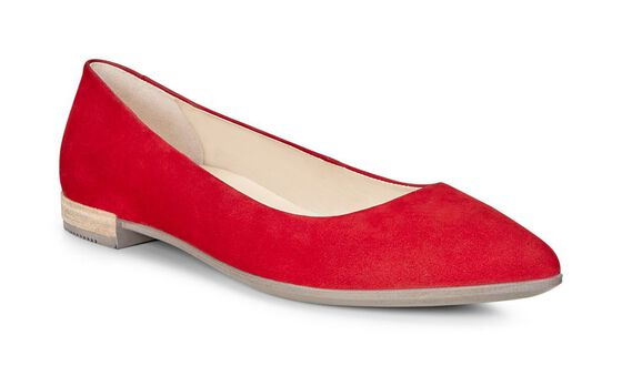 ECCO Shape Pointy Ballerina (CHILI RED)