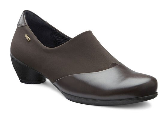 ECCO Sculptured GTX Slip On (COFFEE/COFFEE)