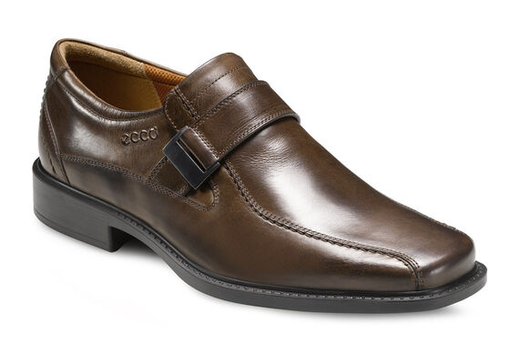 ECCO New Jersey Slip On Buckle (COCOA BROWN)