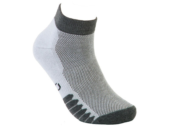 ECCO Mens Anklet Mesh Top Sock (out 14/12-2010 STEEL)
