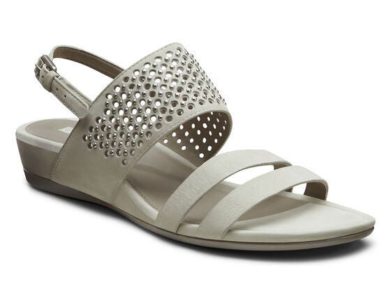 ECCO Touch Dress Sandal (GRAVEL)