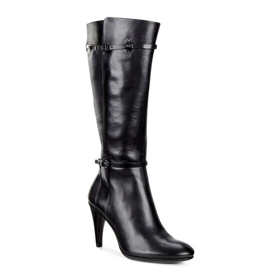 ECCO Shape 75 Sleek Tall Boot (BLACK)