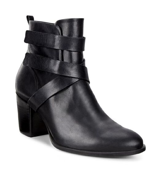 ECCO Shape 55 Ankle Boot (BLACK/BLACK)