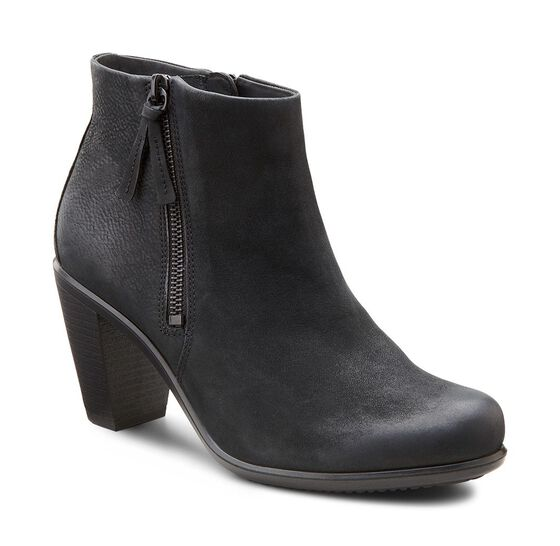 ECCO Touch 75 Ankle Bootie (BLACK)