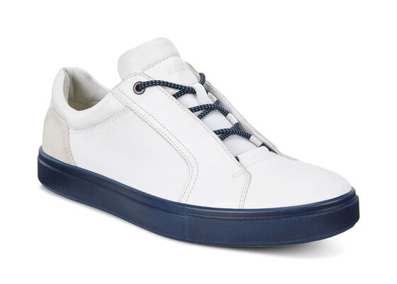 ECCO Kyle Street Sneaker (WHITE/SHADOW WHITE)