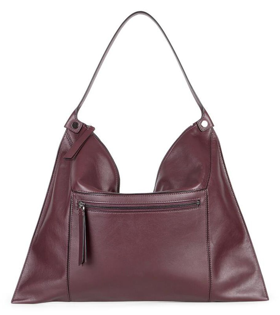 ECCO Sculptured Shoulder Bag 2 (RUBY WINE)