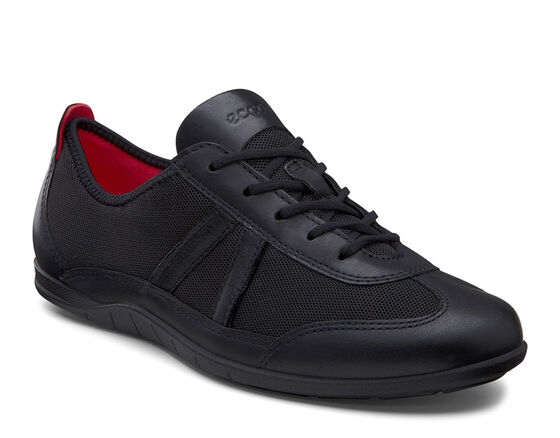 ECCO Bluma Summer Sneaker (BLACK/BLACK)