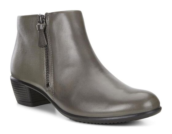ECCO Touch 35 Bootie (WARM GREY/WARM GREY)
