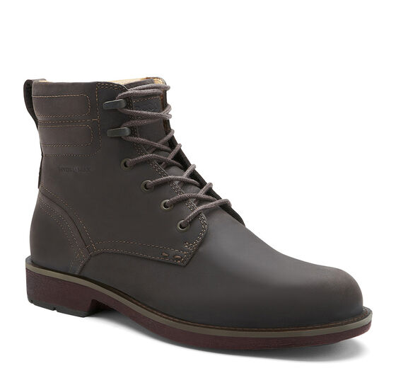 ECCO Bendix Plain Toe Boot (COFFEE)