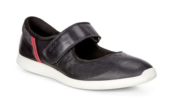ECCO Sense Mary Jane (BLACK/BLACK-WHITE)