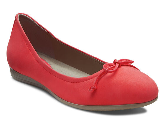 ECCO Touch Bow Ballerina (TEABERRY)