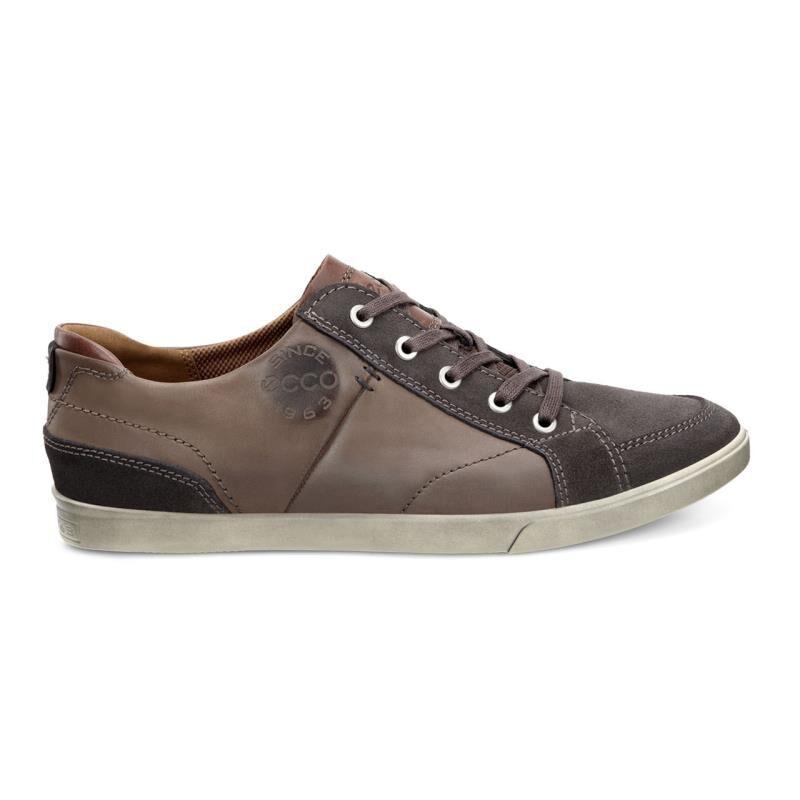 ... ECCO Collin Vintage SneakerECCO Collin Vintage Sneaker LICORICE/COCOA  BROWN/COGNAC (59254) ...