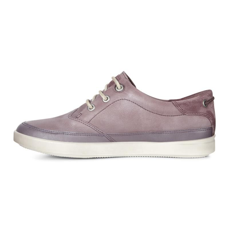 Womens Shoes ECCO Aimee Nautical Sneaker Dusty Purple/Dusty Purple