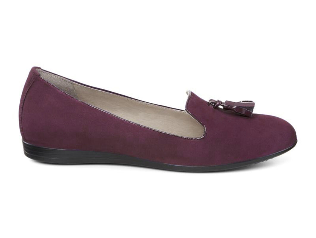 Womens Shoes ECCO Touch 15 Tassel Burgundy/Burgundy