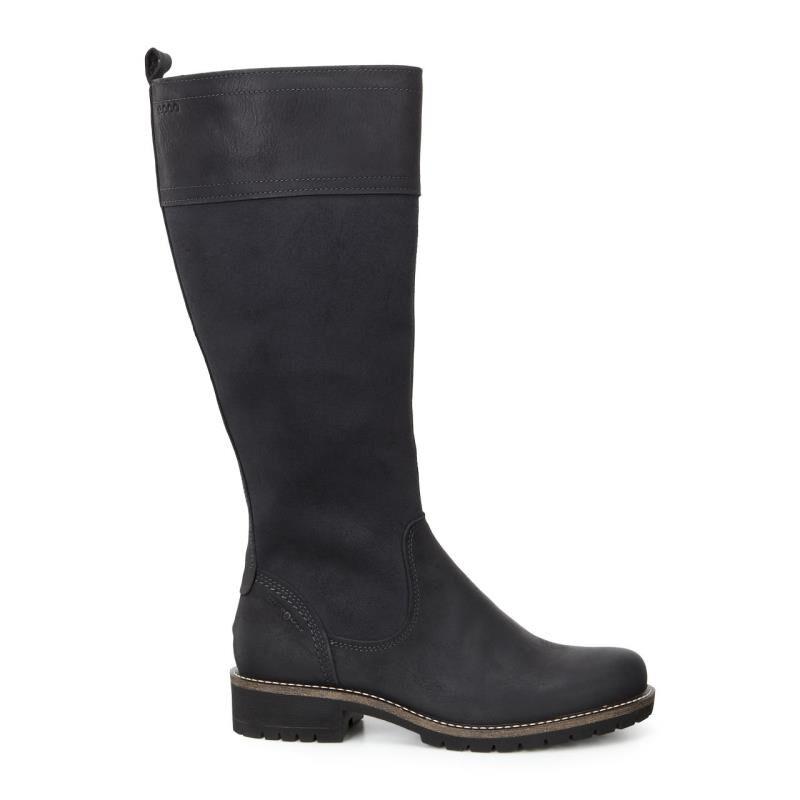 Cheap 100% Womens Boots ECCO Elaine Tall Boot Black/Black