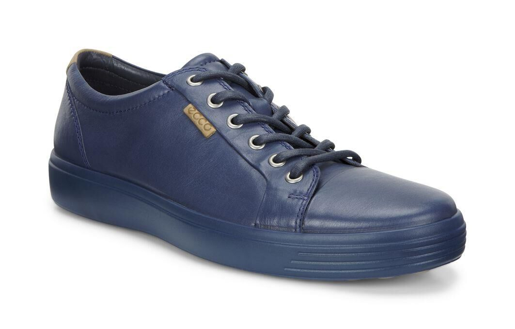Video · ECCO Mens Soft 7 SneakerECCO Mens Soft 7 Sneaker TRUE NAVY/TRUE  NAVY (58960 ...