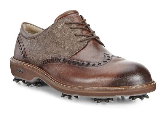 ECCO Mens Golf Lux (BISON/STONE)