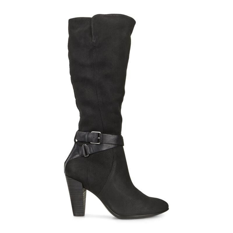 ... ECCO Shape 75 Tall BootECCO Shape 75 Tall Boot BLACK/BLACK (53859) ...
