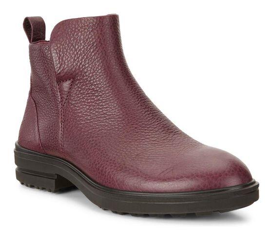 ECCO Zoe Zip Ankle Boot (BORDEAUX)