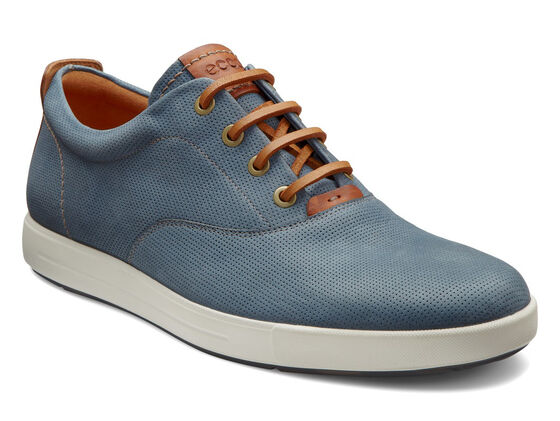 ECCO Eisner Retro Sneaker (DENIM BLUE/LION)
