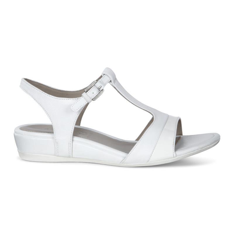 ... ECCO Touch 25 T-Strap SandalECCO Touch 25 T-Strap Sandal WHITE/WHITE ...