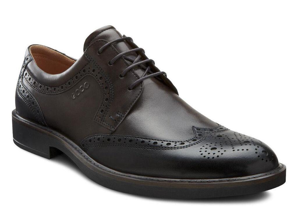Ecco Biarritz Classic Wing Tip Mens Shoes Ecco Usa