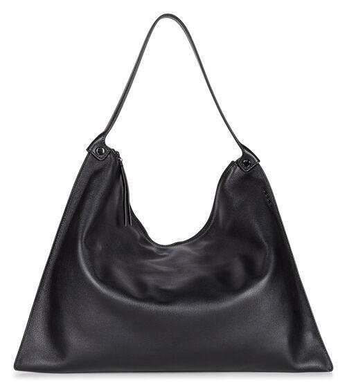 ECCO Sculptured Shoulder Bag (BLACK)
