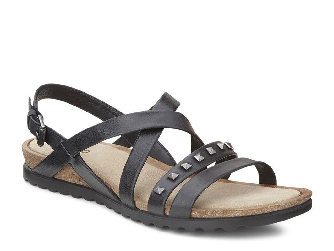 Womens Sandals ECCO Dagmar Cross Sandal Black