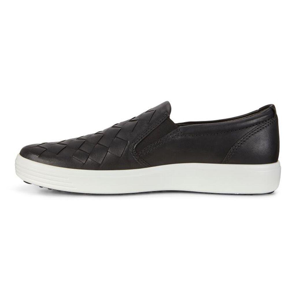 Ecco Mens Soft 7 Woven Men S Shoes Ecco Shoes