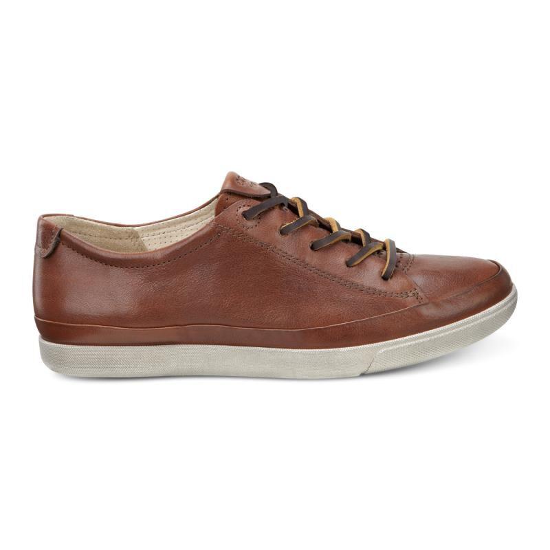 Womens Shoes ECCO Damara Tie Cognac