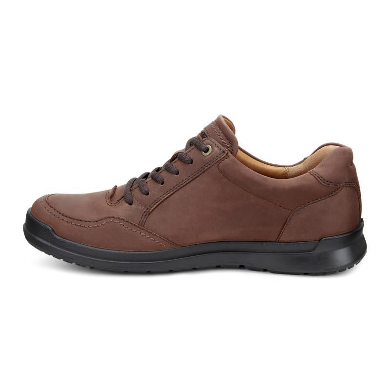 Cognac Ecco Mens Howell Tie Oxfords