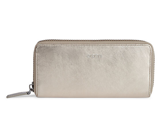ECCO Delight Wallet (MOOROCK METALLIC)