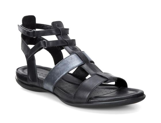 ECCO Flash Ankle Sandal (BLACK/BLACK)