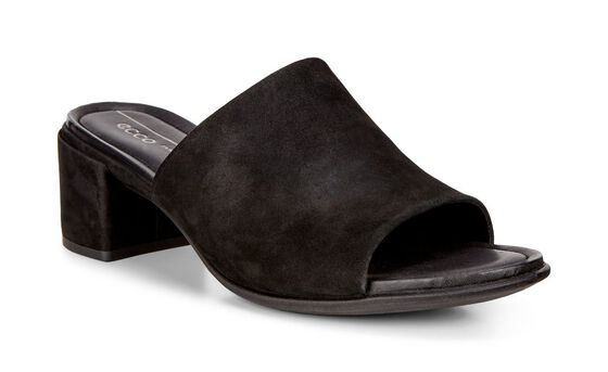 ECCO Shape 35 Slide Sandal (BLACK)