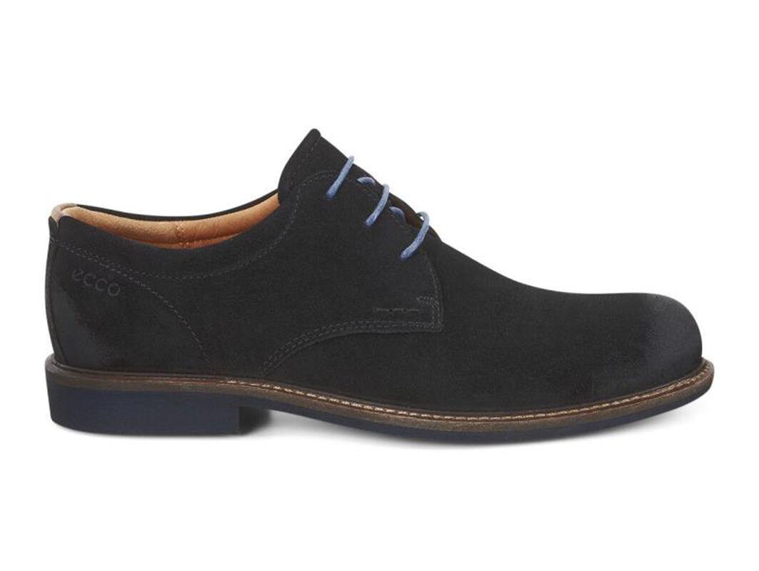 Mens Shoes ECCO Findlay Tie Black/Walnut