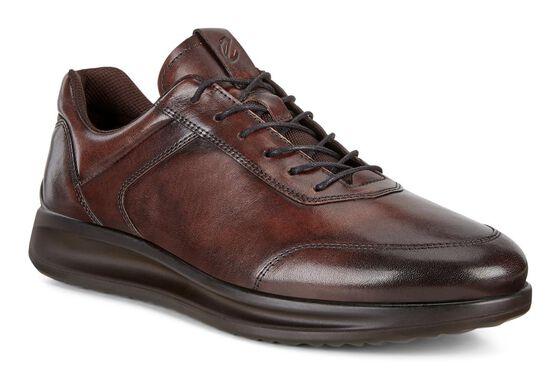 ECCO Mens Aquet Sneaker (COCOA BROWN)