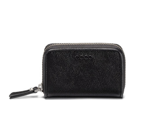 ECCO Belaga Small Zip Wallet (BLACK)