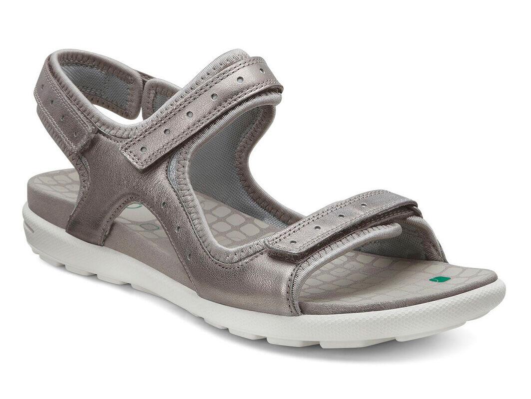 ECCO Jab Strap SandalECCO Jab Strap Sandal MOON ROCK/CONCRETE (56859) ...