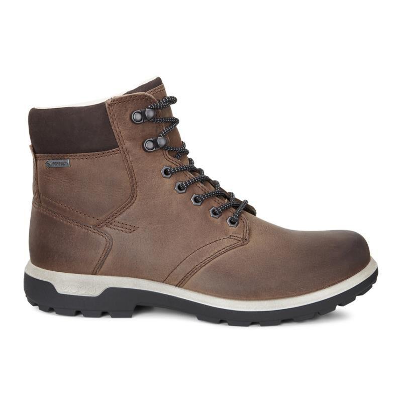 Ecco Mens Cocoa Brown Boots Whistler Gtx Mocha