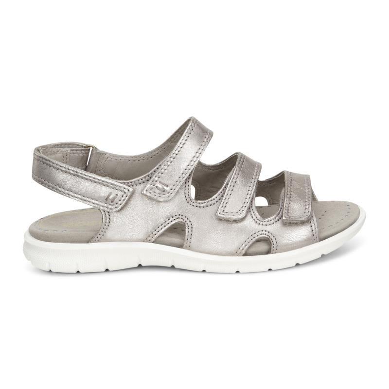 ... ECCO Babett Sandal 3 StrapECCO Babett Sandal 3 Strap MOON ROCK (11459)  ...