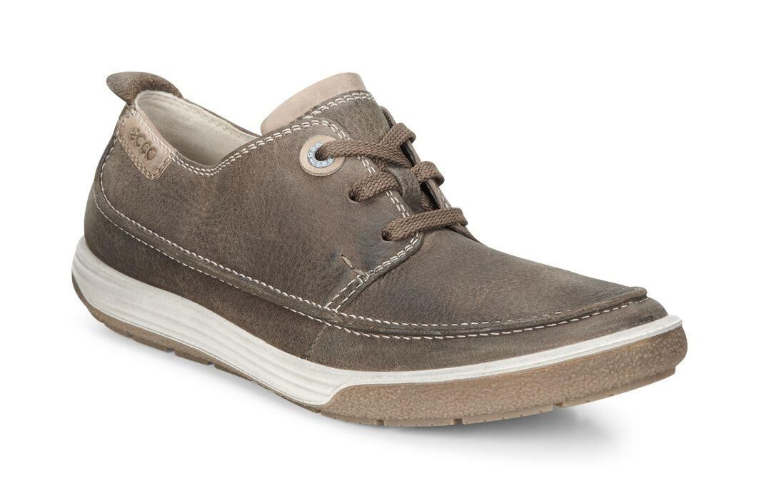 Cheap Womens Casual Shoes - Ecco Chase II Moc Tie Birch/Whisky