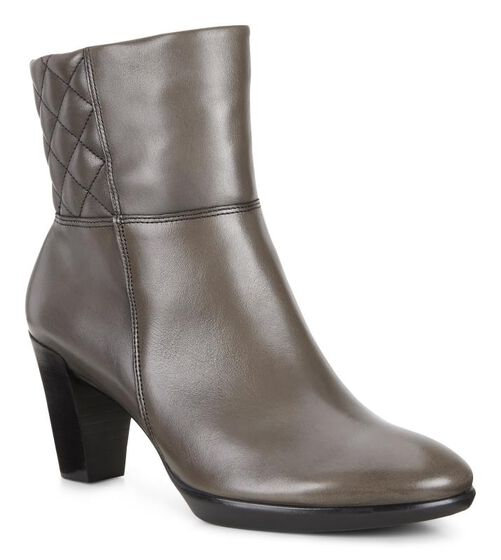 ECCO Shape 55 Plateau Zip Boot (STONE)