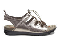 ECCO Jab Toggle SandalECCO Jab Toggle Sandal in WARM GREY METALLIC/WARM GREY (57966)