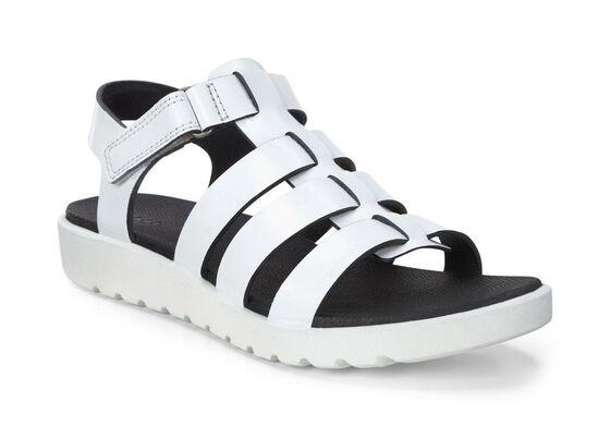 ECCO Freja Ankle Sandal (WHITE)