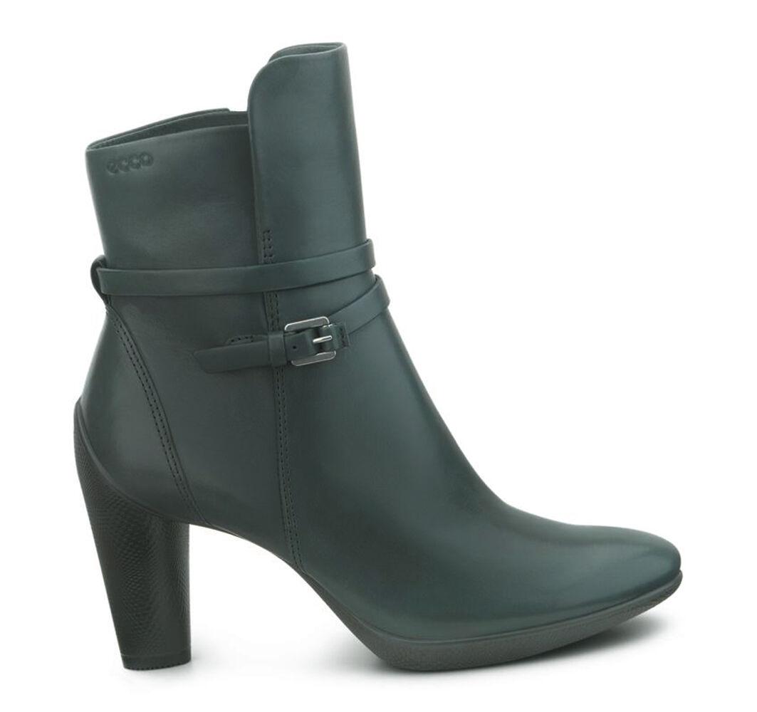 Green Ecco Womens Boots Sculptured 75 Gables Dress Coupons