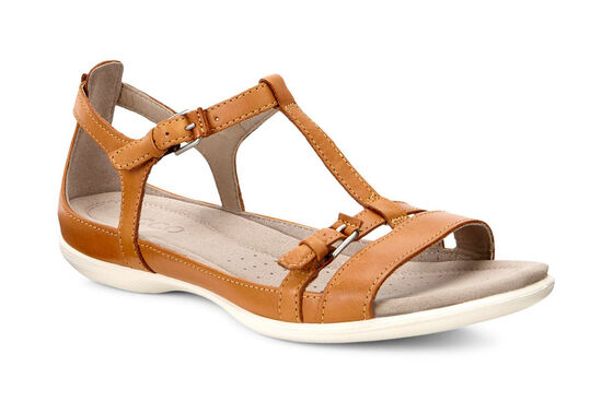 ECCO Flash T-Strap Sandal II (LION)
