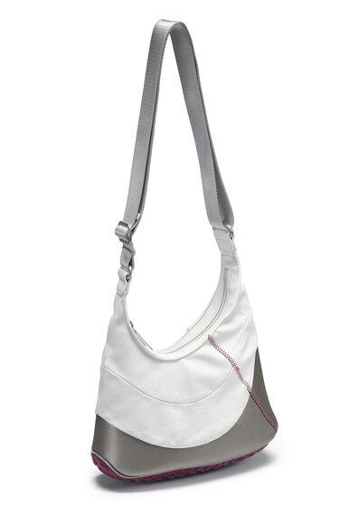 ECCO Performance Lite Hobo Bag (SHADOW WHITE/FUCHSIA)