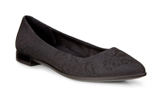ECCO Shape Textured BallerinaECCO Shape Textured Ballerina BLACK/BLACK (51052)