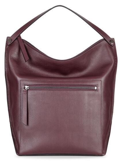 ECCO Sculptured Hobo Bag (RUBY WINE)
